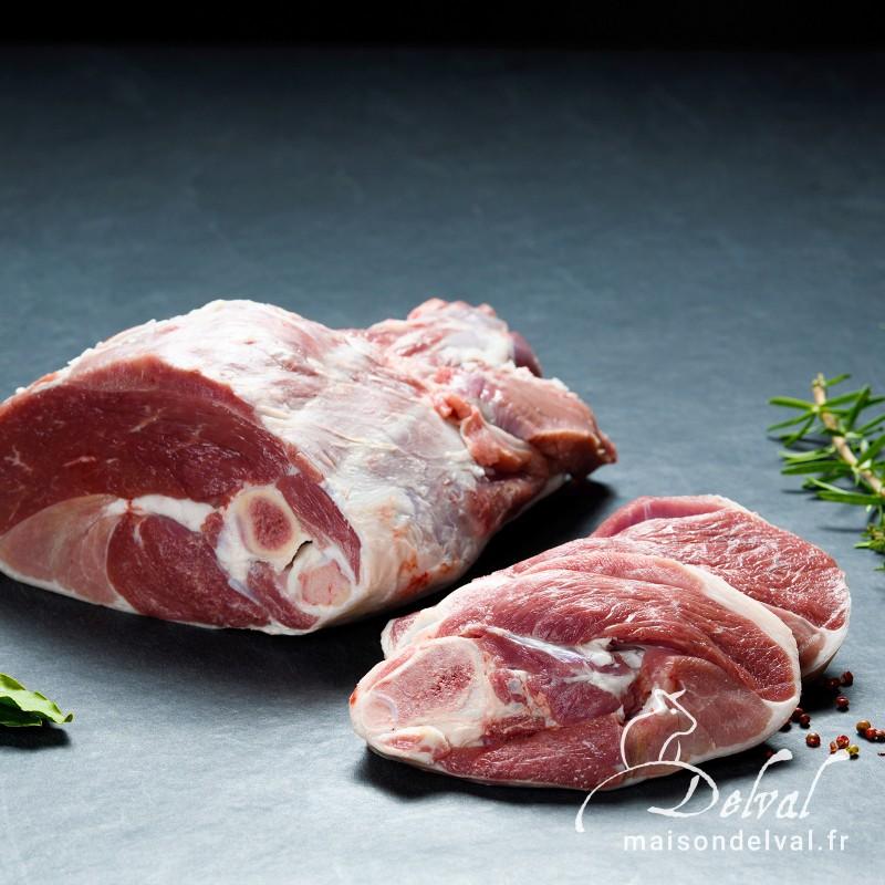Maison Delval - Gigot d'agneau BIO en tranche