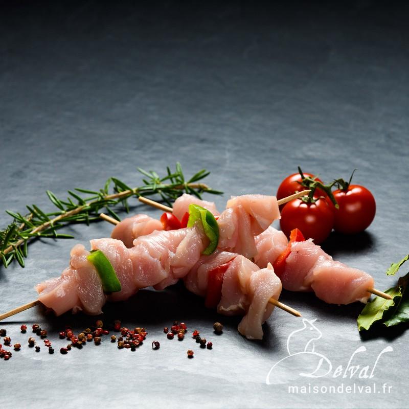 Maison Delval - Brochette de dinde