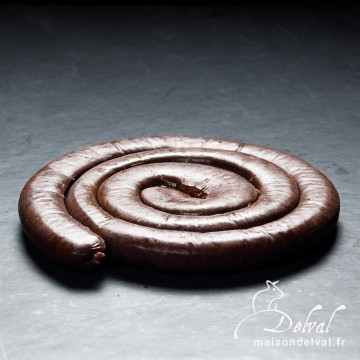 Maison Delval - Boudin noir brasse 500g