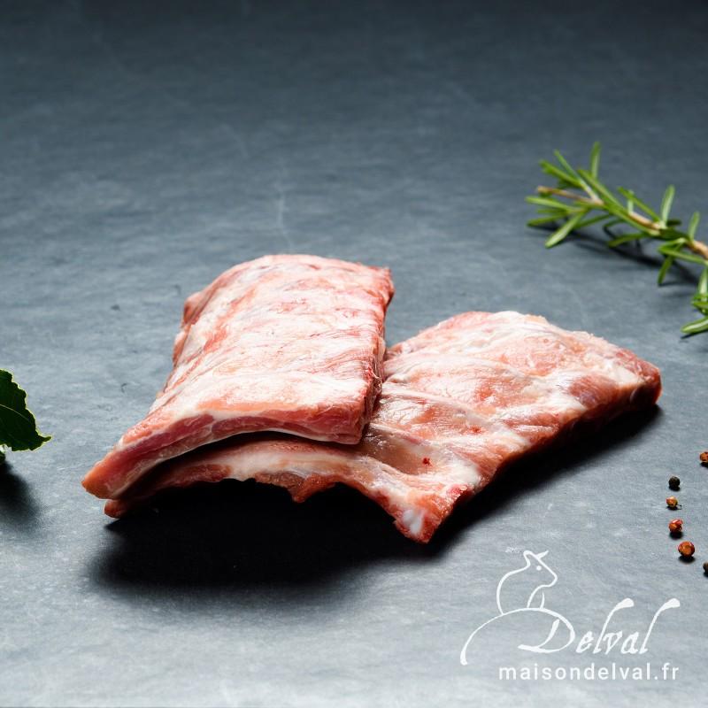 Maison Delval - Cotis de porc Bleu Blanc Cœur