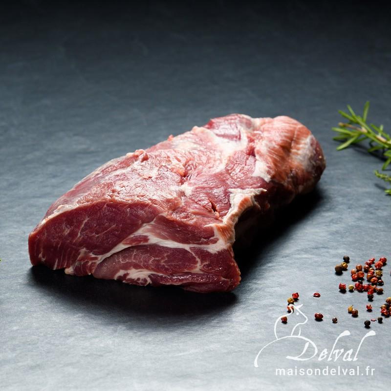 Maison Delval - Rôti d'échine de porc Bleu Blanc Cœur sans os