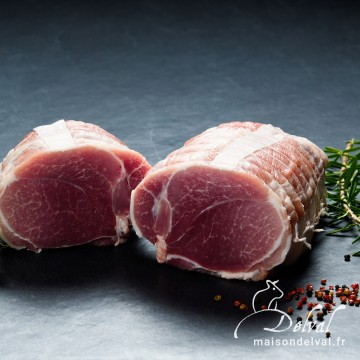Maison Delval - Rôti d'épaule de porc Bleu Blanc Cœur sans os