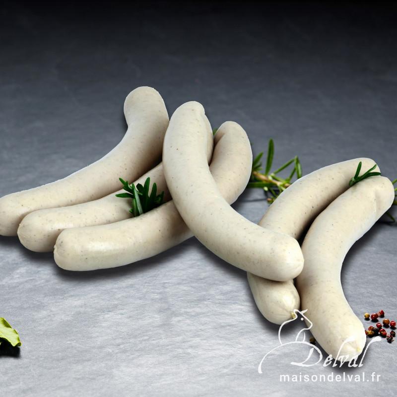 Maison Delval - Saucisse blanche