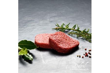 Maison Delval - Bifteck de bœuf haché frais Sélection Delval