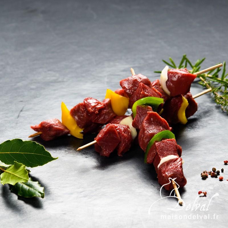 Maison Delval - Brochettes de bœuf Sélection Delval