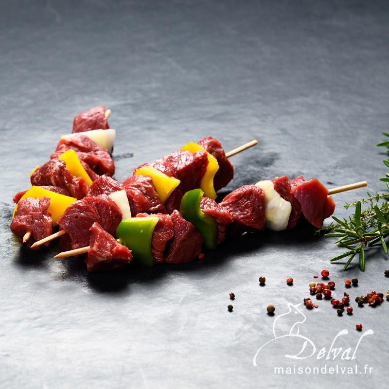 Maison Delval - Brochettes de bœuf épicées Sélection Delval