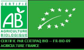 Entreprise certifiée FR-BIO-09